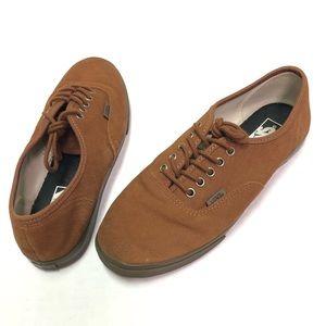 VANS Low Lace Up Canvas Old School Shoes 7 Sz 8.5